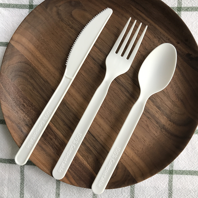 Compostable Eco-friendly biodegradable CPLA cutlery