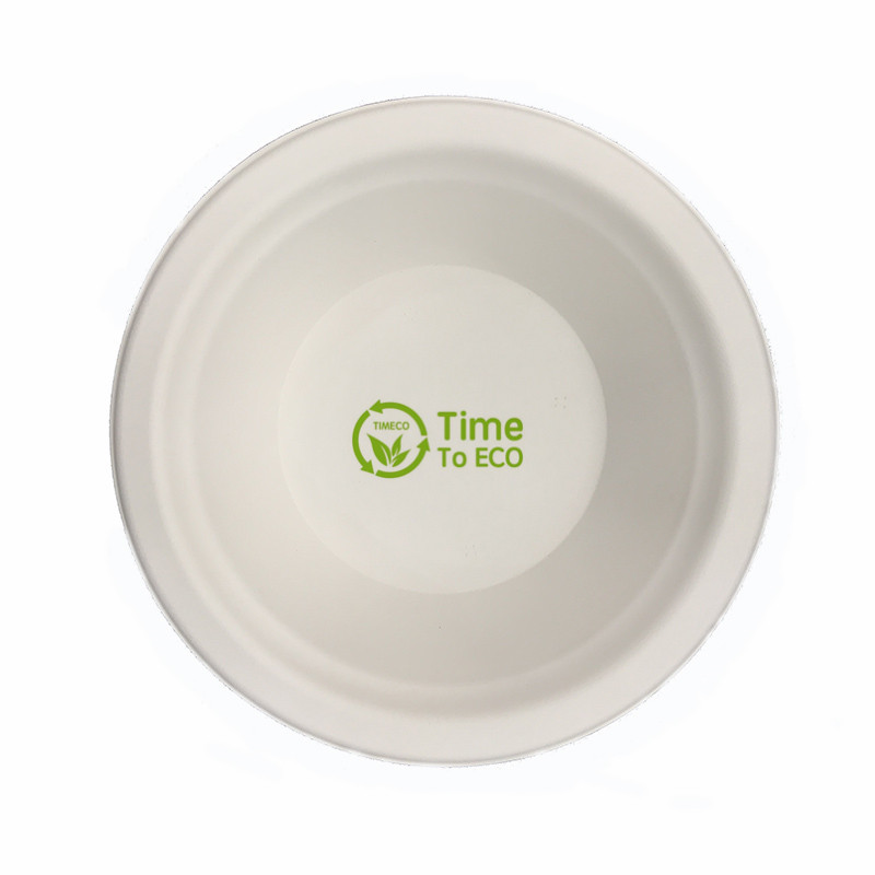 12 oz disposable bagasse bowl