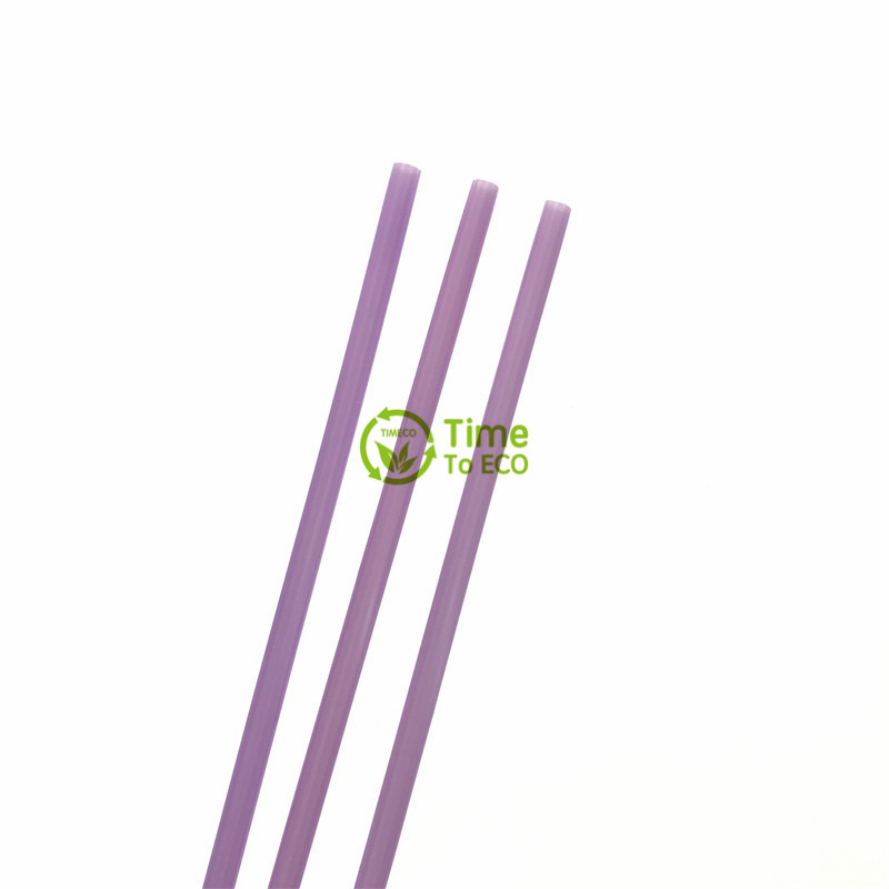 Eco friendly 100% biodegradable PLA drinking straw