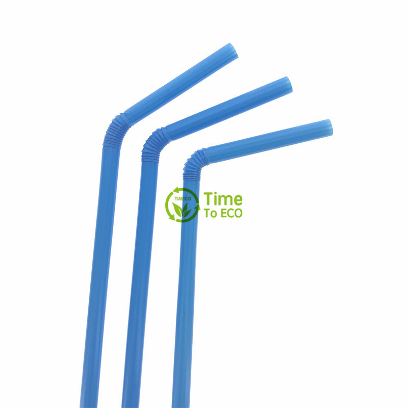 Biodegradable flexible pla straw