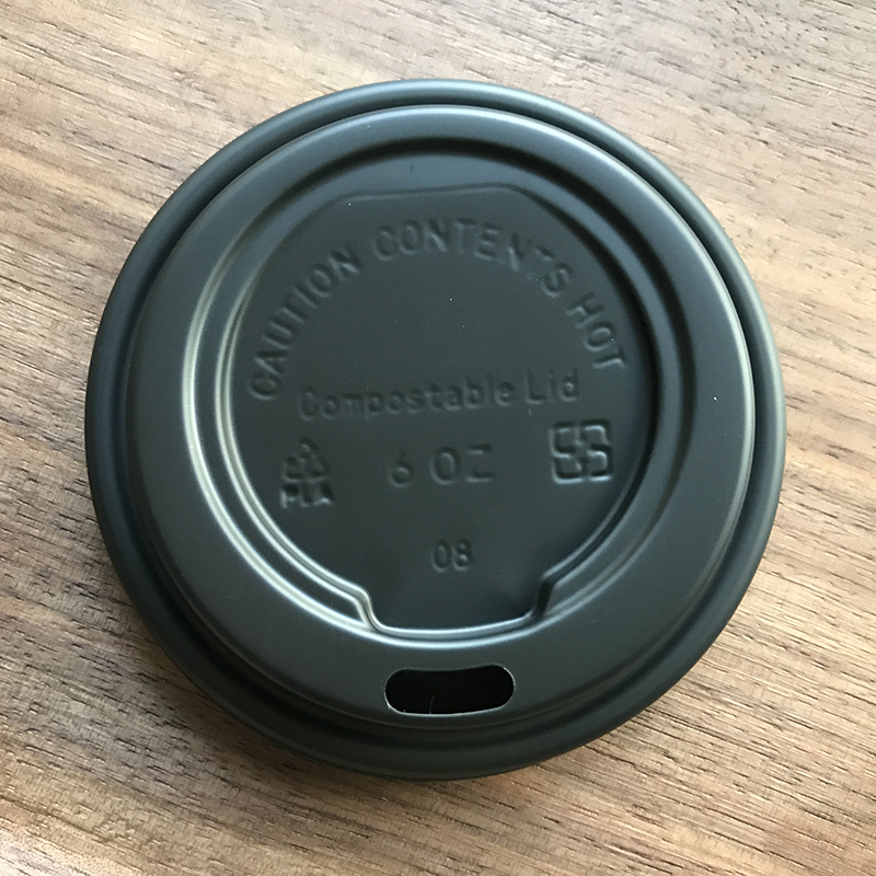 73mm Compostable CPLA Coffee Cup Lid