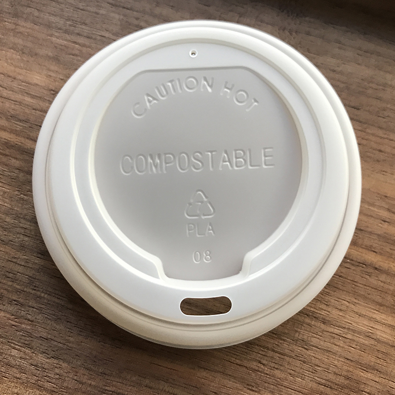 85mm Compostable CPLA Coffee Cup Lid