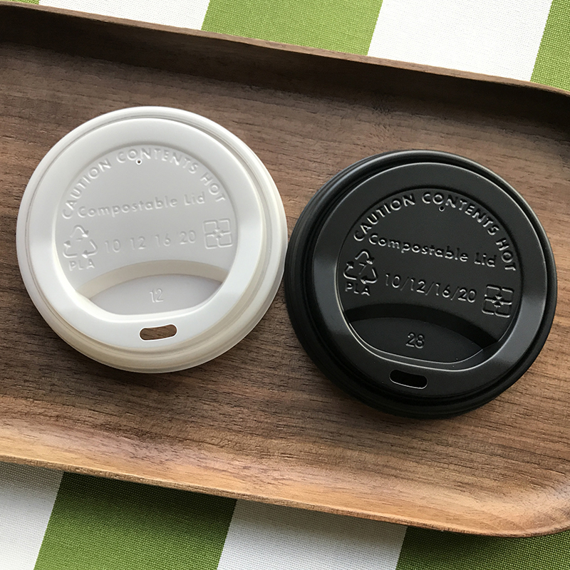 90mm Compostable CPLA Coffee Cup Lid