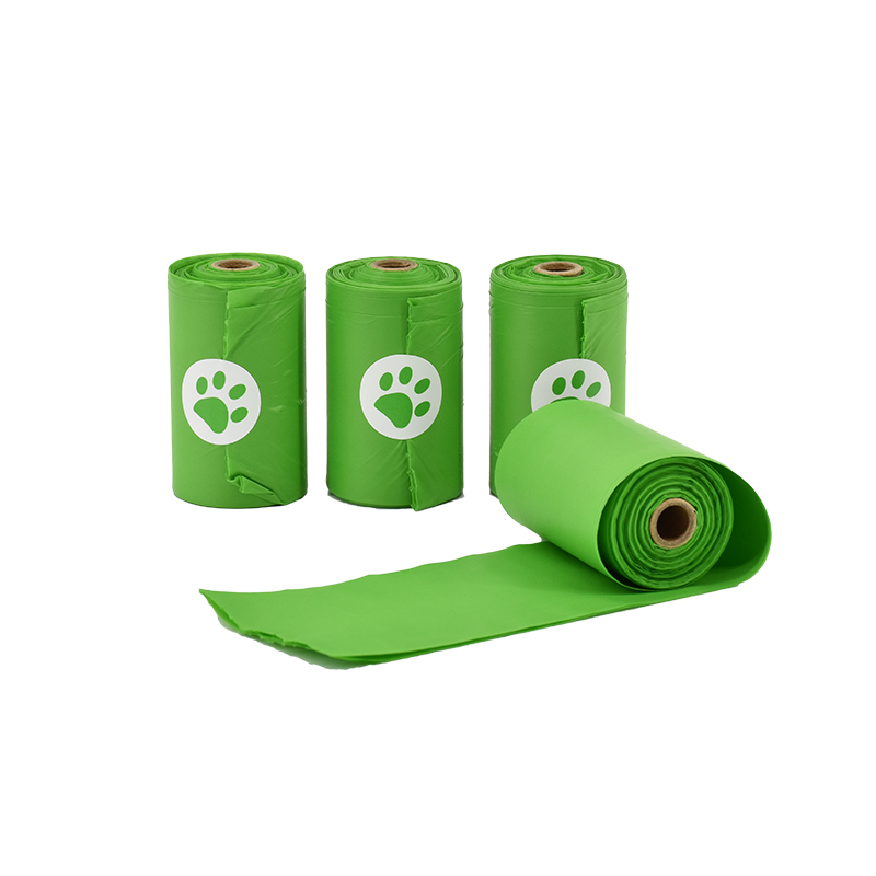 Biodegradable Cornstarch pet dog waste poop bags